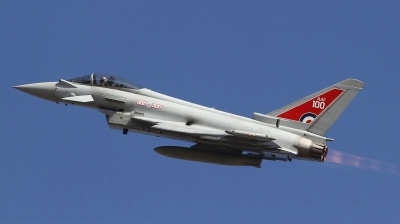 Photo ID 212899 by Paul Newbold. UK Air Force Eurofighter Typhoon FGR4, ZK318