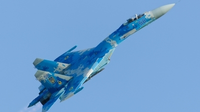 Photo ID 213177 by Caspar Smit. Ukraine Air Force Sukhoi Su 27P1M,