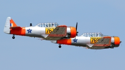 Photo ID 213021 by Maurice Kockro. Private Private North American SNJ 4 Texan, N7678Z
