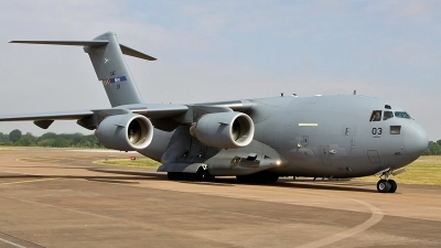 Photo ID 212999 by Craig Pelleymounter. NATO Strategic Airlift Capability Boeing C 17A Globemaster III, 08 0003