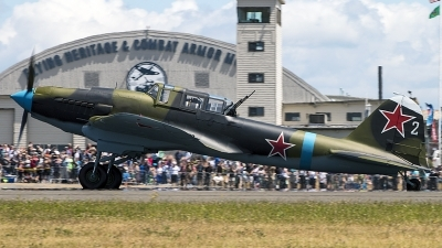 Photo ID 213059 by Aaron C. Rhodes. Private Flying Heritage Collection Ilyushin IL 2m3 Sturmovik, NX112VW