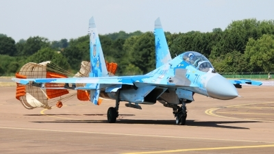 Photo ID 213025 by mark van der vliet. Ukraine Air Force Sukhoi Su 27UB1M, B 1831M1