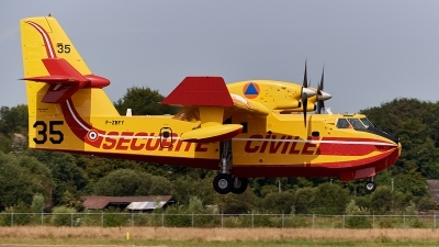 Photo ID 213016 by Lieuwe Hofstra. France Securite Civile Canadair CL 415 6B11, F ZBFY