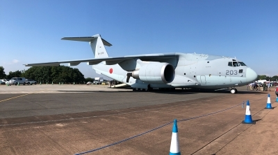 Photo ID 213015 by Philipp Jakob Schumacher. Japan Air Force Kawasaki C 2, 68 1203