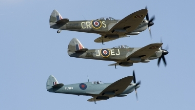 Photo ID 213335 by Joop de Groot. Private Spitfire Ltd Supermarine 361 Spitfire LF16E, G OXVI