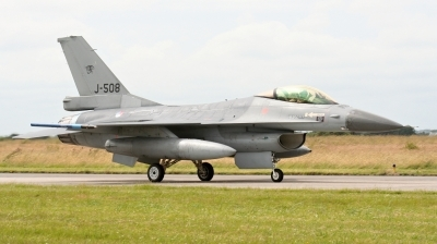 Photo ID 213068 by Milos Ruza. Netherlands Air Force General Dynamics F 16AM Fighting Falcon, J 508