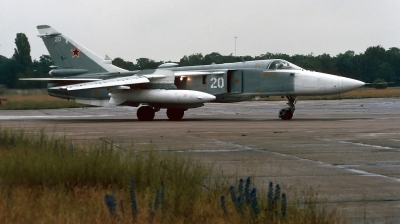 Photo ID 213099 by Alex Staruszkiewicz. Russia Air Force Sukhoi Su 24MR, 20 WHITE