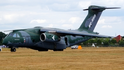 Photo ID 213173 by Lukas Kinneswenger. Brazil Air Force Embraer KC 390, PT ZNJ