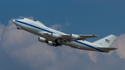 Photo ID 213209 by Adrian Stürmer. USA Air Force Boeing E 4B 747 200B, 73 1677
