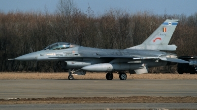 Photo ID 213359 by Henk Schuitemaker. Belgium Air Force General Dynamics F 16A Fighting Falcon, FA 70