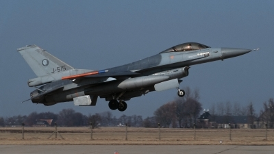 Photo ID 213392 by Henk Schuitemaker. Netherlands Air Force General Dynamics F 16A Fighting Falcon, J 515