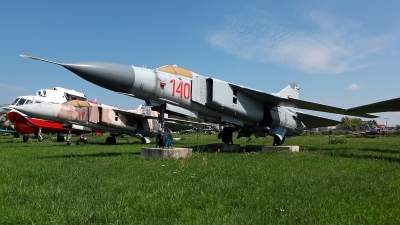 Photo ID 213454 by Carl Brent. Poland Air Force Mikoyan Gurevich MiG 23MF, 140