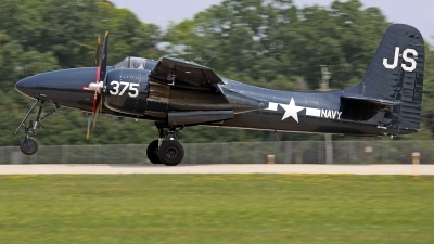 Photo ID 213467 by David F. Brown. Private Private Grumman F7F 3N Tigercat, NX379AK