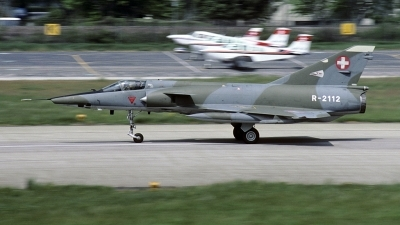 Photo ID 213522 by Joop de Groot. Switzerland Air Force Dassault Mirage IIIRS, R 2112