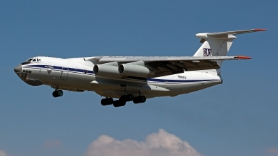 Photo ID 213532 by Carl Brent. Ukraine Air Force Ilyushin IL 76MD, 78820