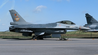 Photo ID 213552 by Henk Schuitemaker. Belgium Air Force General Dynamics F 16A Fighting Falcon, FA 74