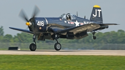 Photo ID 213590 by David F. Brown. Private Private Vought F4U 4 Corsair, N713JT