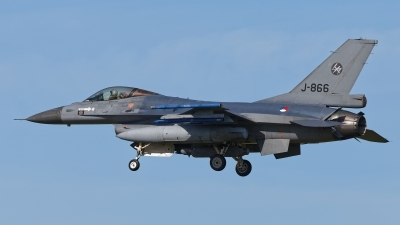 Photo ID 214409 by Rainer Mueller. Netherlands Air Force General Dynamics F 16AM Fighting Falcon, J 866