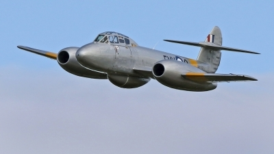 Photo ID 213680 by David F. Brown. Private Private Gloster Meteor T 7, N313Q
