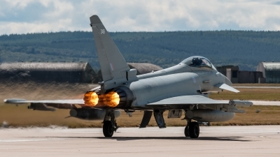Photo ID 213669 by Mike Macdonald. UK Air Force Eurofighter Typhoon FGR4, ZK349