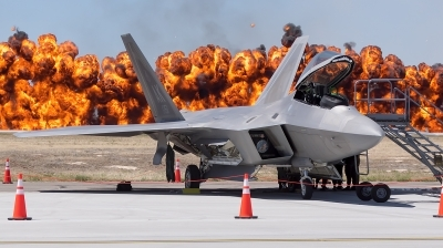 Photo ID 213723 by Colin Moeser. USA Air Force Lockheed Martin F 22A Raptor, 07 4151