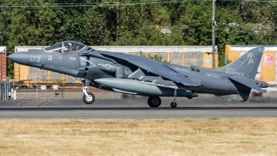 Photo ID 213751 by Paul Varner. USA Marines McDonnell Douglas AV 8B Harrier ll, 165595