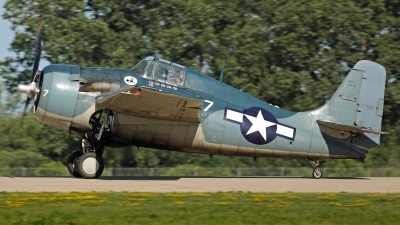 Photo ID 213825 by David F. Brown. Private Private Grumman F4F Wildcat FM 2, N551TC
