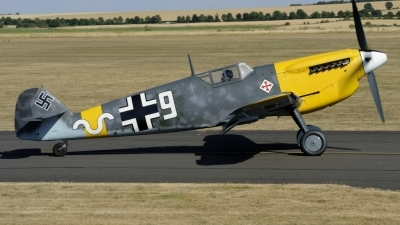 Photo ID 213853 by rinze de vries. Private Air Leasing Ltd Hispano HA 1112 M1L Buchon, G AWHH