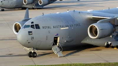 Photo ID 213857 by Mario Boeren. Australia Air Force Boeing C 17A Globemaster III, A41 211