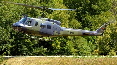 Photo ID 213885 by Nils Berwing. Germany Army Bell UH 1D Iroquois 205, 72 00