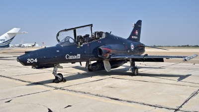 Photo ID 214033 by Gerald Howard. Canada Air Force BAE Systems CT 155 Hawk Hawk Mk 115, 155204