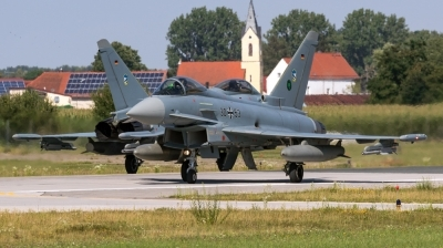 Photo ID 213966 by Mathias Grägel - GME-AirFoto. Germany Air Force Eurofighter EF 2000 Typhoon S, 30 53
