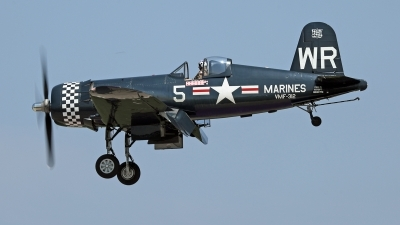 Photo ID 214023 by David F. Brown. Private Fighters Legends LLC Vought F4U 5N Corsair, N179PT
