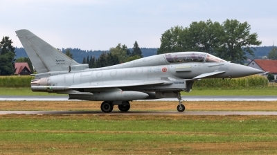 Photo ID 214073 by Mathias Grägel - GME-AirFoto. Italy Air Force Eurofighter TF 2000A Typhoon EF 2000T, MM55128