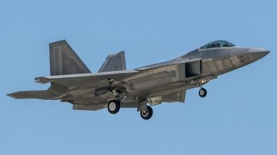 Photo ID 214049 by Paul Varner. USA Air Force Lockheed Martin F 22A Raptor, 02 4033