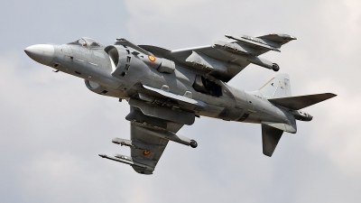 Photo ID 214160 by flyer1. Spain Navy McDonnell Douglas EAV 8B Harrier II, VA 1B 37