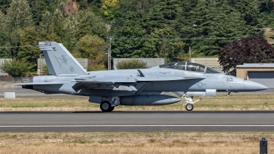 Photo ID 214178 by Paul Varner. USA Navy Boeing F A 18F Super Hornet, 166635