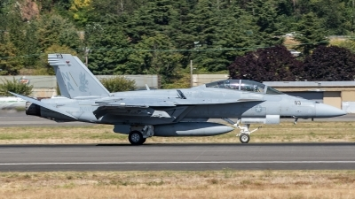 Photo ID 214201 by Paul Varner. USA Navy Boeing F A 18F Super Hornet, 166962