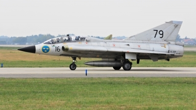 Photo ID 214187 by Milos Ruza. Private Swedish Air Force Historic Flight Saab Sk35C Draken, SE DXP
