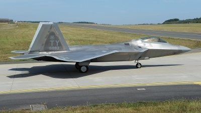 Photo ID 214215 by Peter Boschert. USA Air Force Lockheed Martin F 22A Raptor, 05 4093