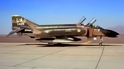 Photo ID 214227 by Gerrit Kok Collection. USA Air Force McDonnell Douglas F 4C Phantom II, 63 7428