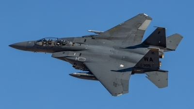 Photo ID 214337 by Paul Varner. USA Air Force McDonnell Douglas F 15E Strike Eagle, 91 0305