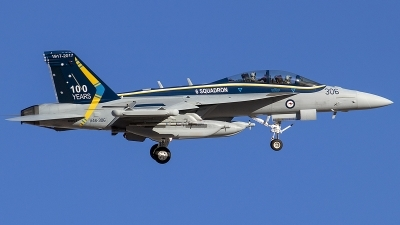 Photo ID 214343 by Alex Jossi. Australia Air Force Boeing EA 18G Growler, A46 306