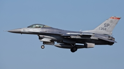 Photo ID 214569 by Rainer Mueller. USA Air Force General Dynamics F 16C Fighting Falcon, 91 0358