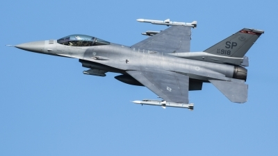 Photo ID 214495 by Luca Bani. USA Air Force General Dynamics F 16C Fighting Falcon, 92 3918