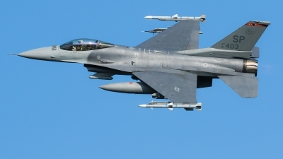 Photo ID 214487 by Luca Bani. USA Air Force General Dynamics F 16CM Fighting Falcon, 91 0403