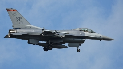 Photo ID 214507 by Rainer Mueller. USA Air Force General Dynamics F 16C Fighting Falcon, 91 0358