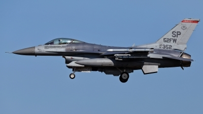 Photo ID 214512 by Rainer Mueller. USA Air Force General Dynamics F 16C Fighting Falcon, 91 0352