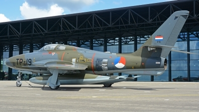 Photo ID 214533 by Eric Tammer. Netherlands Air Force Republic RF 84F Thunderflash, P 5