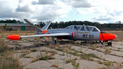 Photo ID 214588 by Carl Brent. Belgium Air Force Fouga CM 170R Magister, MT51